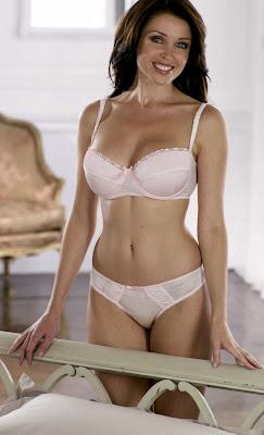 Dannii Minogue lingerie photoshoot