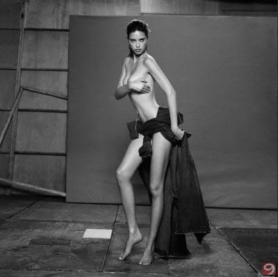 Adriana Lima DT Magazine Cover Photoshoot