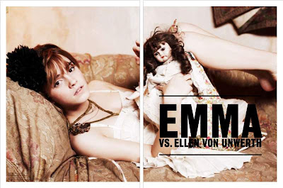 Emma Watson - Ellen Von Unwerth Photo Shoot