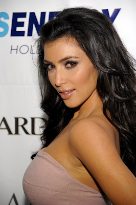 Kim Kardassian Leather & Laces Celebration Photos