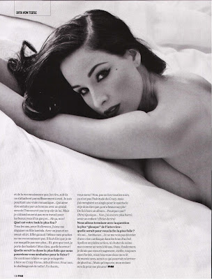 Dita Von Teese FHM France Scans