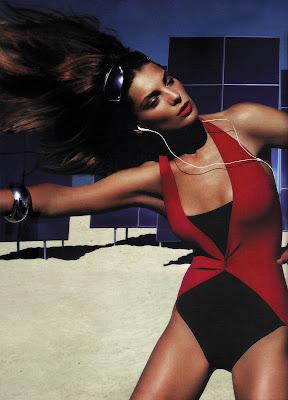Daria Werbowy Vogue Scans