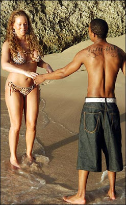 Mariah Carey bikini Candids