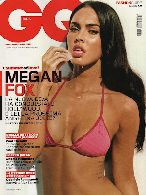 Megan Fox GQ Magazine Scans