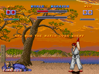 Street Fighter One by Valkyrie Project Mugen002