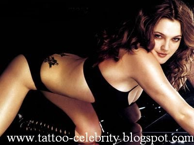 Labels: drew barrymore arm tattoo, drew barrymore belly button tattoo,