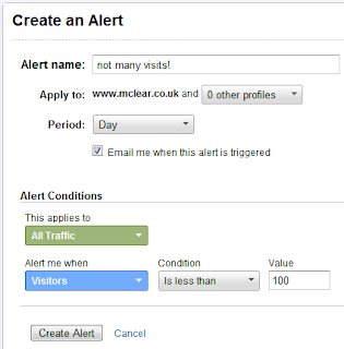 intell Google Analytics Intelligence *new feature