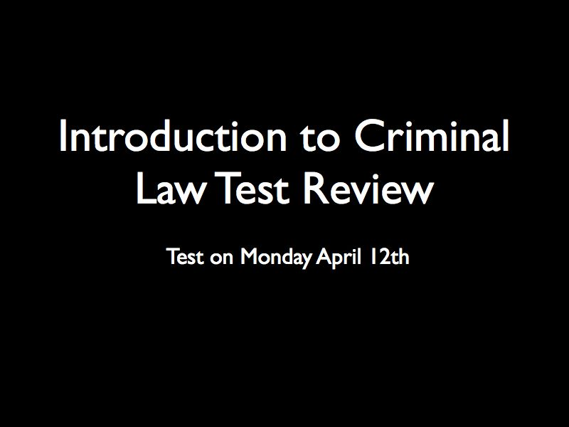 introduction to criminal law 12 criminal law and criminal procedure learning objective 1 compare criminal law and criminal procedure this book focuses on criminal law 2, but it occasionally touches on issues of criminal procedure 3, so it is important to differentiate between the two criminal law generally defines the rights and obligations of individuals in society.