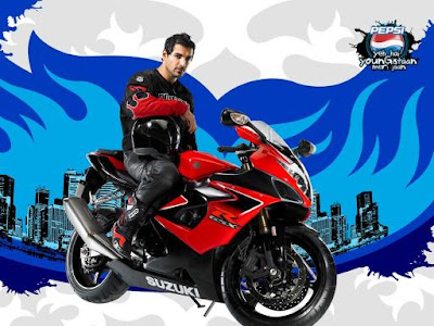 John Abraham Wallpaper Bike