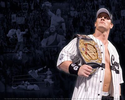 Wallpaper of John Cena. Tuesday, January 29th, 2008 at 5:36 am