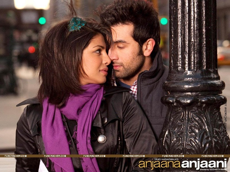 wallpapers : Ranbir Kapoor - Priyanka chopra anjaana anjaani wallpaper