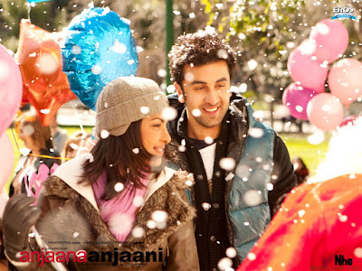 Download free pc wallpapers : Ranbir Kapoor - Priyanka chopra anjaana