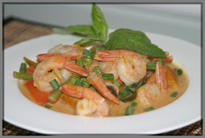 Asian Cooking and More...: Panang Shrimp Curry