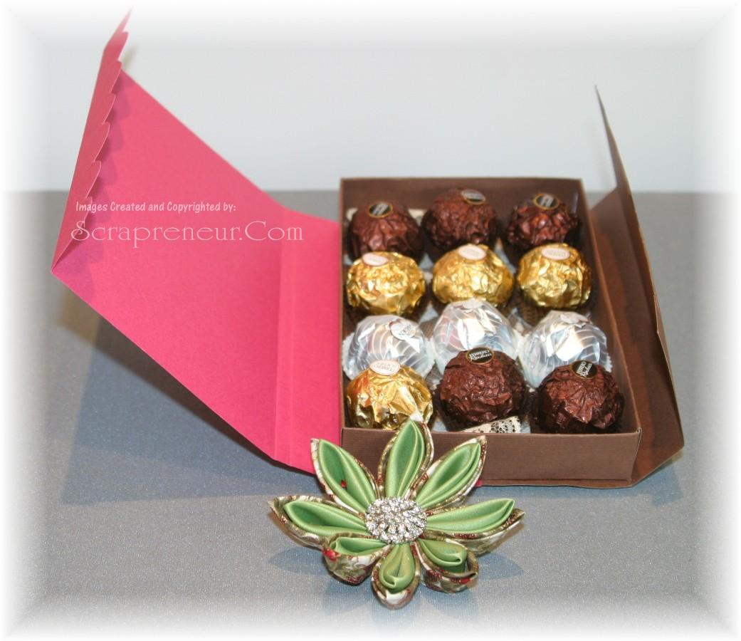 Japanese Valentine Chocolate Box Jinkys Crafts