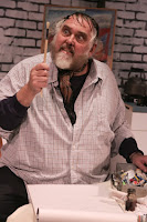 Jim Brochu is Zero Mostel in the Zero Hour, at NCTC