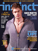 January issue of Instinct Magazine with GuyDads and parents