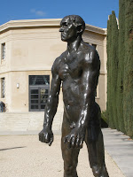 Rodin statue at Cantor Center for Visual Arts