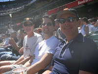 A sunny afternoon at the Giants game