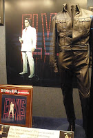Elvis' black leather suit from his 1968 comeback TV special
