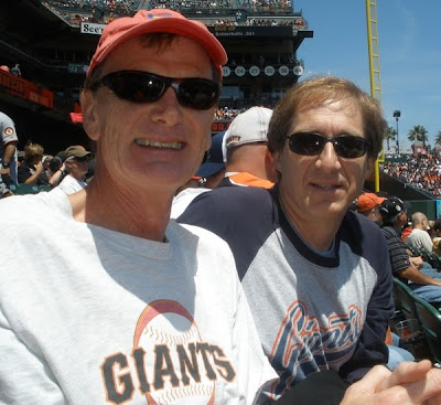 GuyDads at the SF Giants game