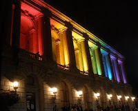 Rainbow series night at the SF Opera