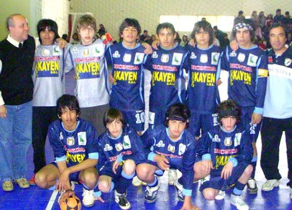 Menores jugaron el Provincial. Ushuaia, diciembre '08.