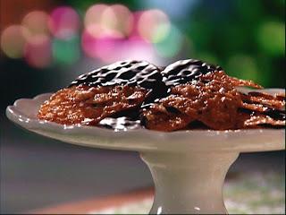 Çikolata ve Hindistan cevizi Dantel Çerezler