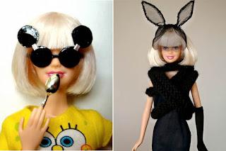 Gaga em versão boneca