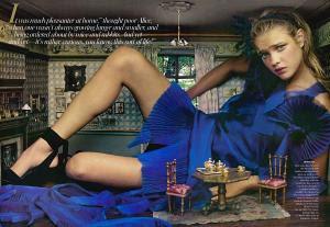 Editorial Vogue América dezembro de2003