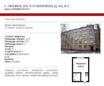 Moscow condo