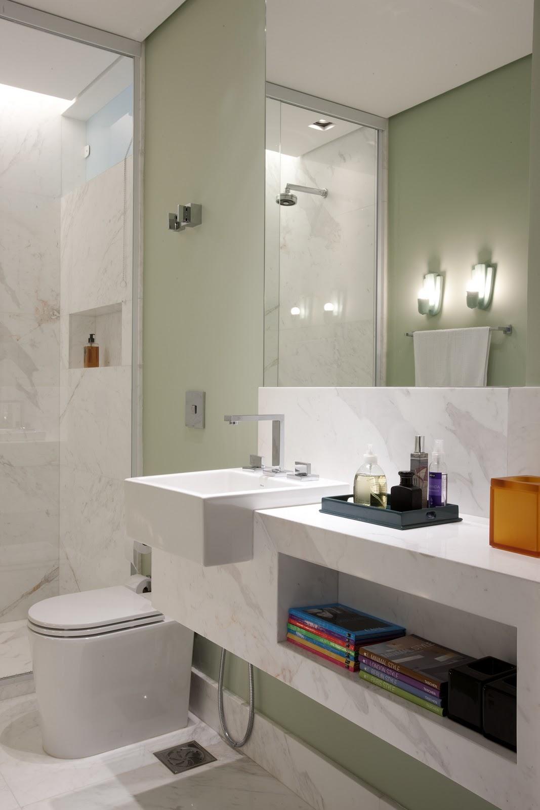 AMC Arquitetura: Cor no banheiro #AD701E 1067x1600 Arquitetura No Banheiro