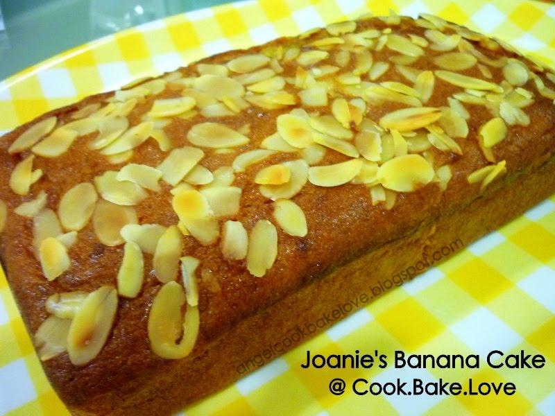 Cook bake love soft amp moist joanie s banana bread