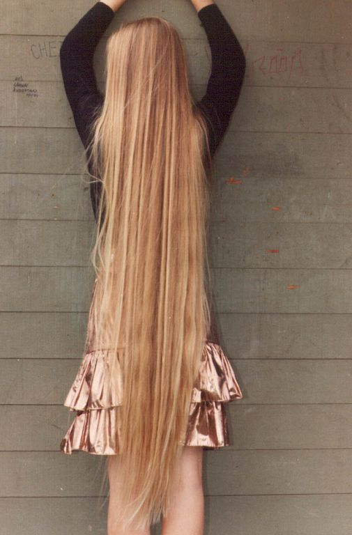 how to grow really long hair in a day