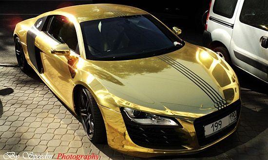 Emm Pronounced Edoublem Gold Audi R8