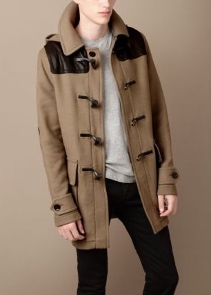 Here is a cool different version of the classic Burberry Duffle Coats with ...
