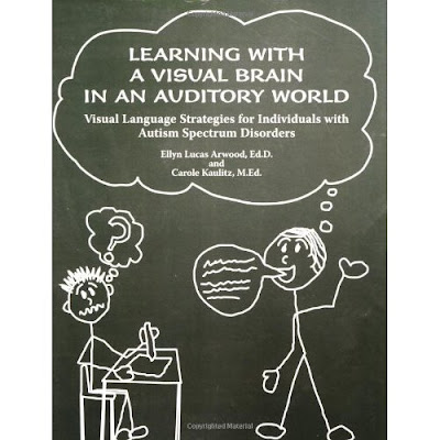 Learning with a visual brain in a auditory world