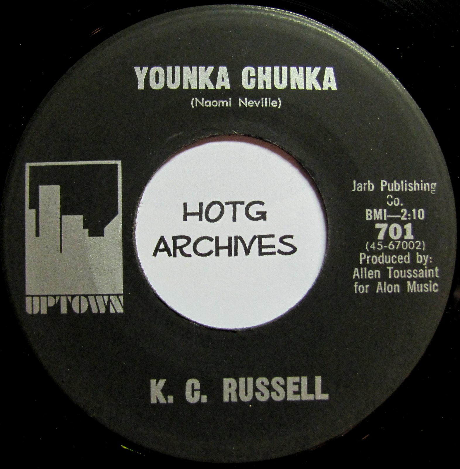K.C. Russell - Younka Chunka - How Tired I Am