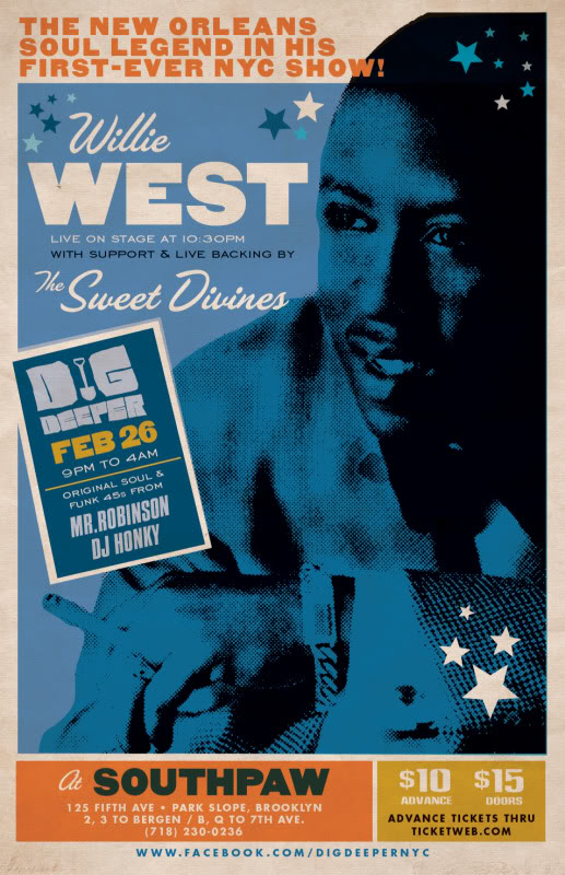 Willie West and The Soul Investigators - After The Storm