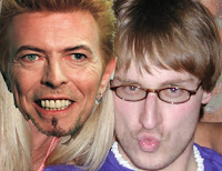 Yeah, Peabs used to hang with Bowie, but you won't hear him talk about it... just not a bragger