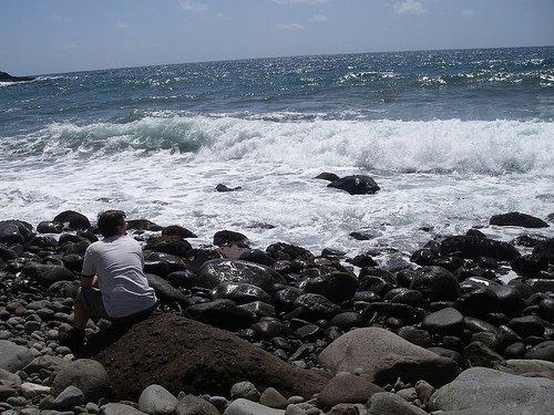 Rock Beach - Beau Rive, Dominica