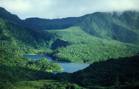 Freshwater Lake, Dominica