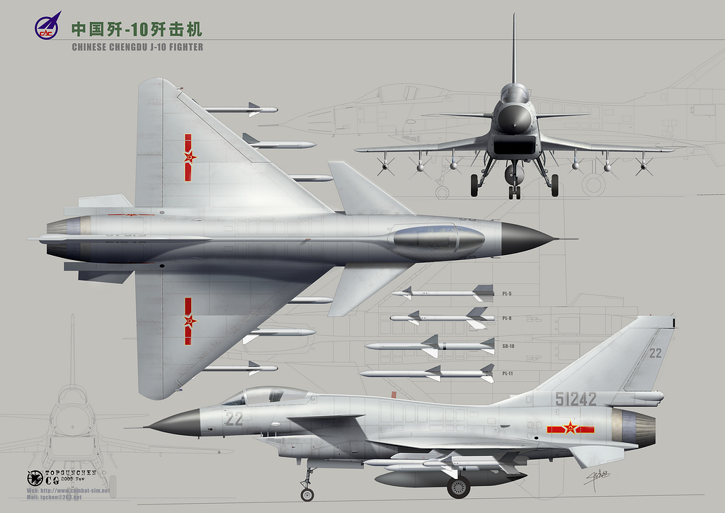 Chinese J10 Fighter