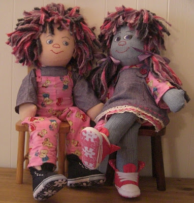 Flattops: Crafts: Grace, the Official Flattops Rag Doll