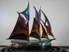 Bronze Schooner