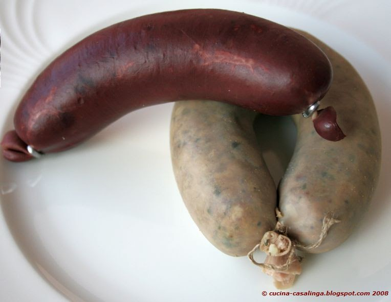 Cucina Casalinga Blut Und Leberwurst