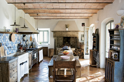 Bright Bazaar Rustic Kitchen Diner Get The Look