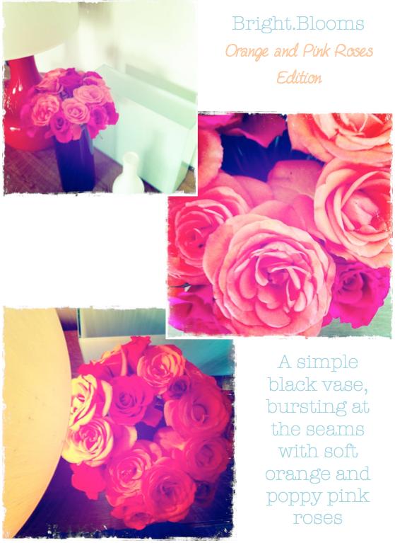 Orange Lamp Update & Bright Blooms} - Bright Bazaar by Will Taylor