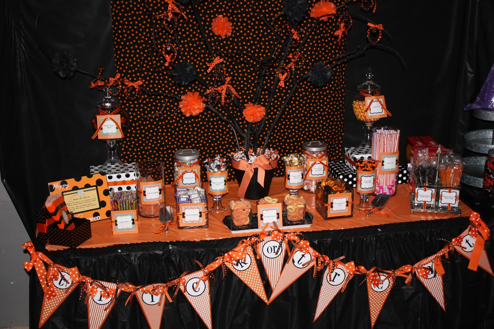 A Sweet Halloween Party - Anders Ruff Custom Designs, LLC