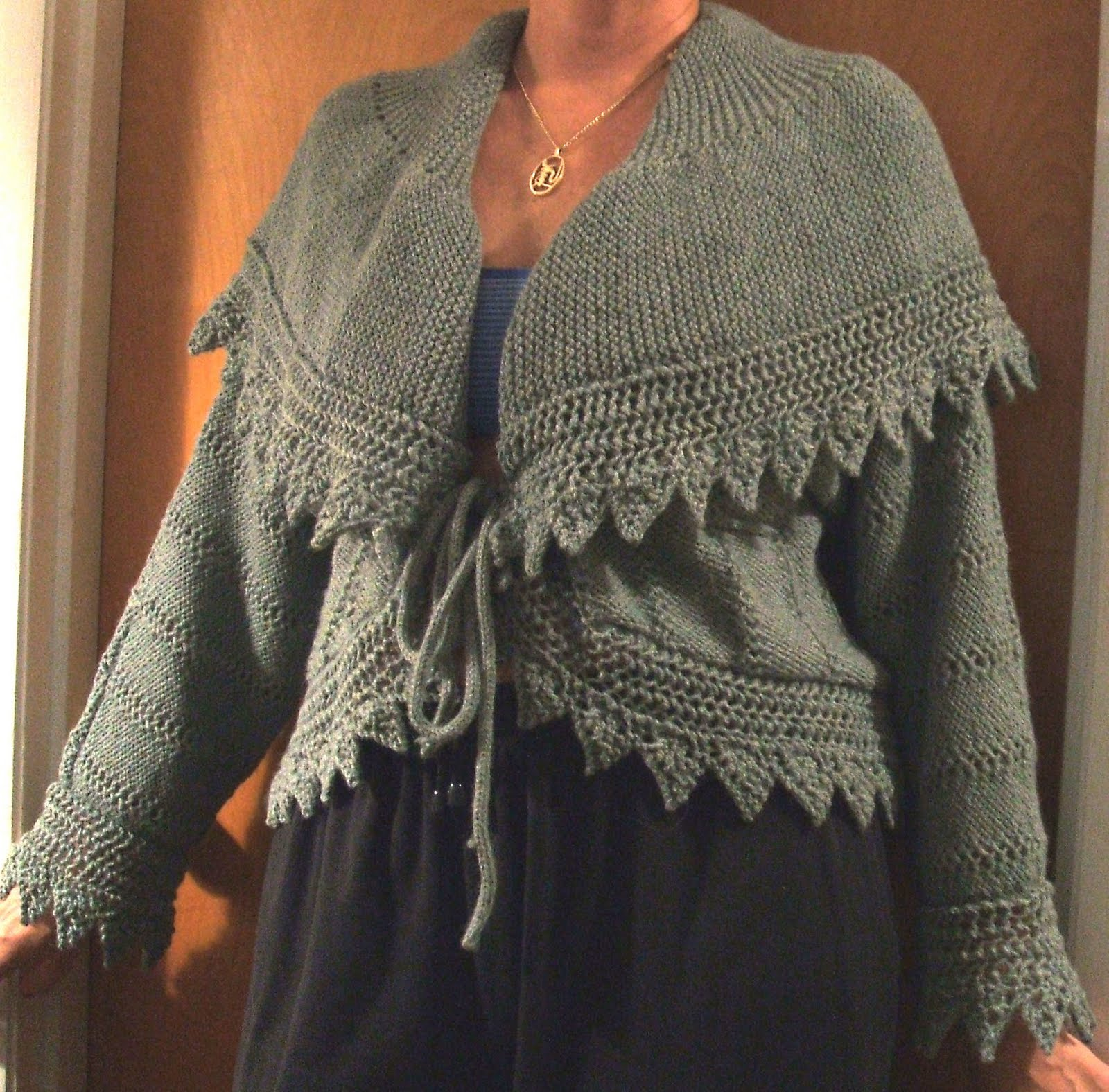 Free Knitting Glove Patterns : Bed Jacket Patterns Patterns Gallery
