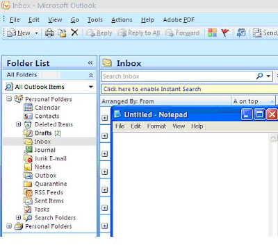 how to change outlook inbox name